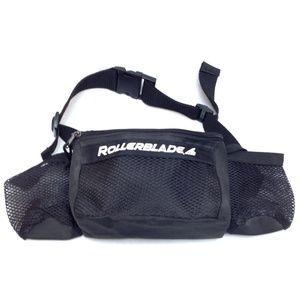 ROLLERBLADE Black Fanny Pack Waist Belt Bag Mesh